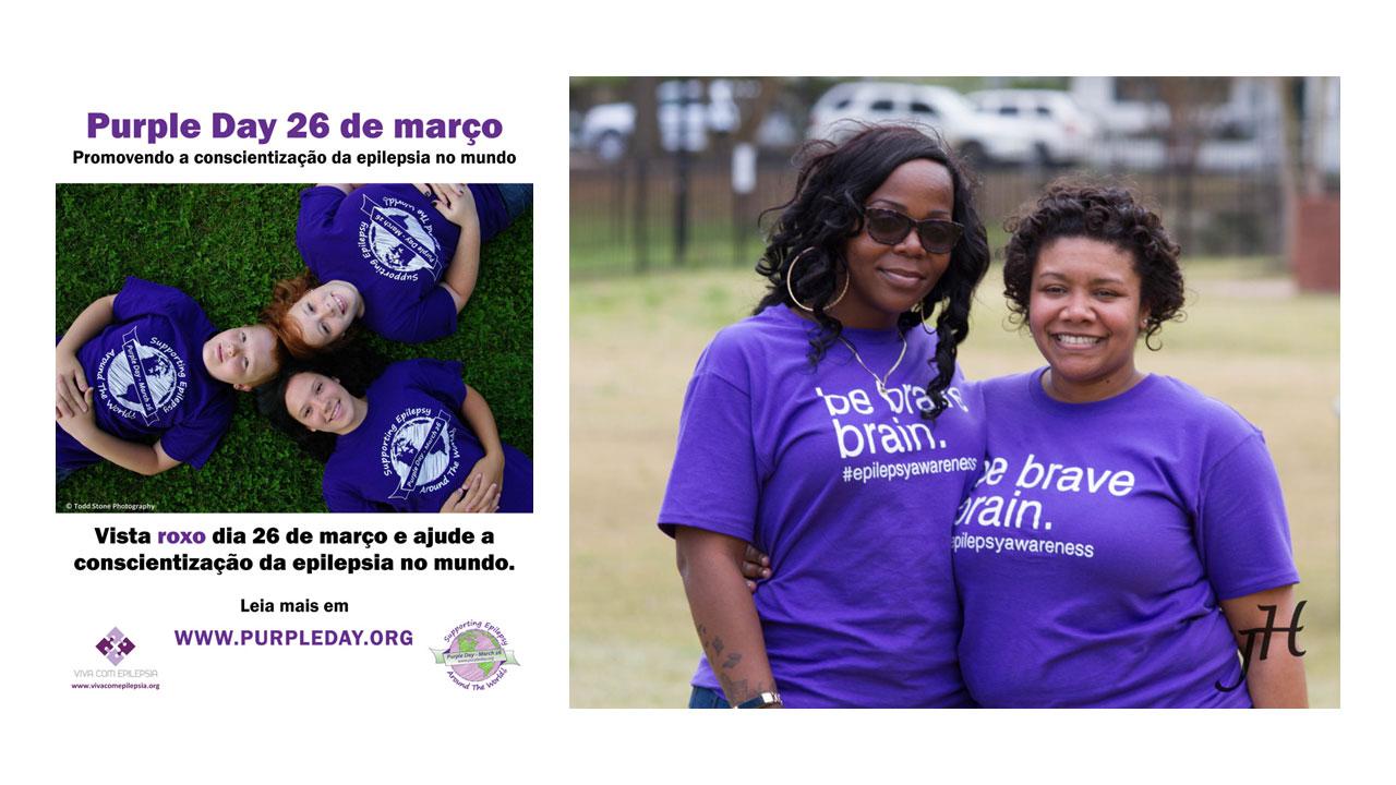 Purple Day 26 de marco