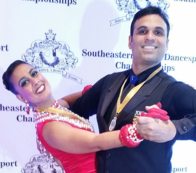 Presenting Yourself at Ballroom Dance Competitio