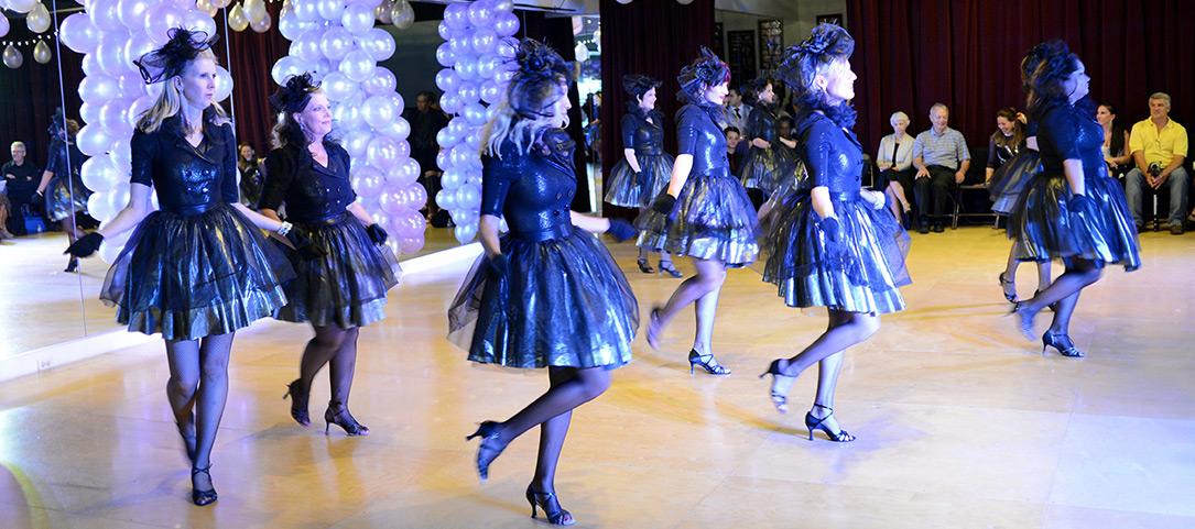 Group dance lessons, Elkhart