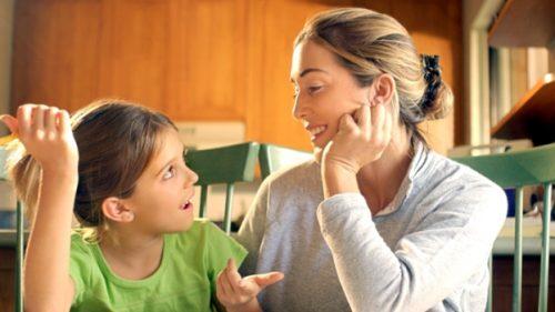 Habla con tus hijos sobre la pubertad