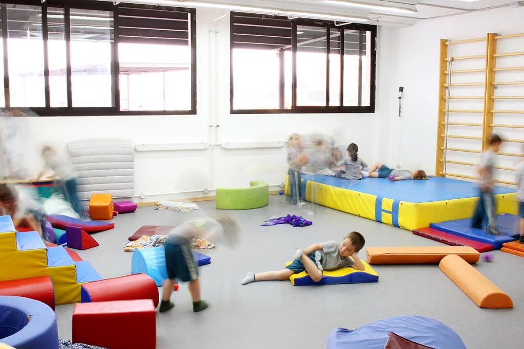 Sala de psicomotricidad.
