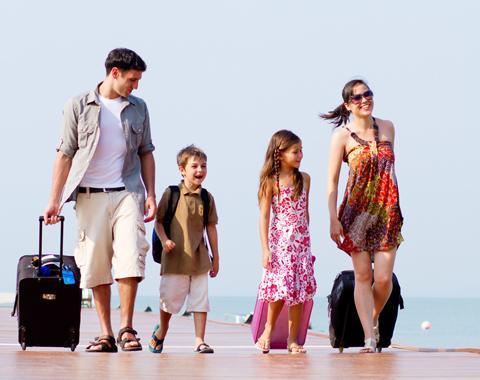 Evita el estrés de los viajes a tus hijos