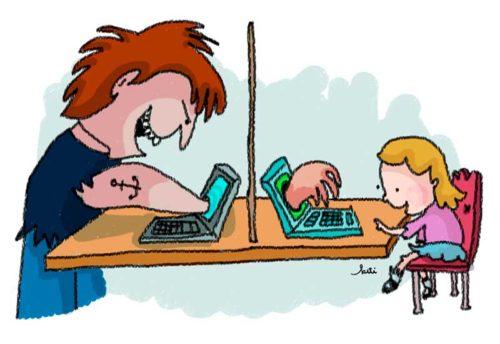 Los riesgos que enfrentan tus hijos al usar internet