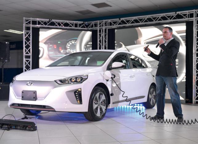 Hyundai Ioniq Electric a drenta Aruba