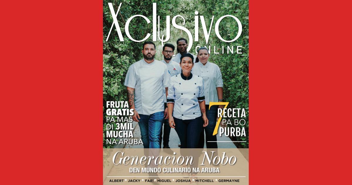 Xclusivo Online cu edicion dedica na e generacion nobo den mundo culinario na Aruba