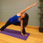 Maddie Adams yoga class