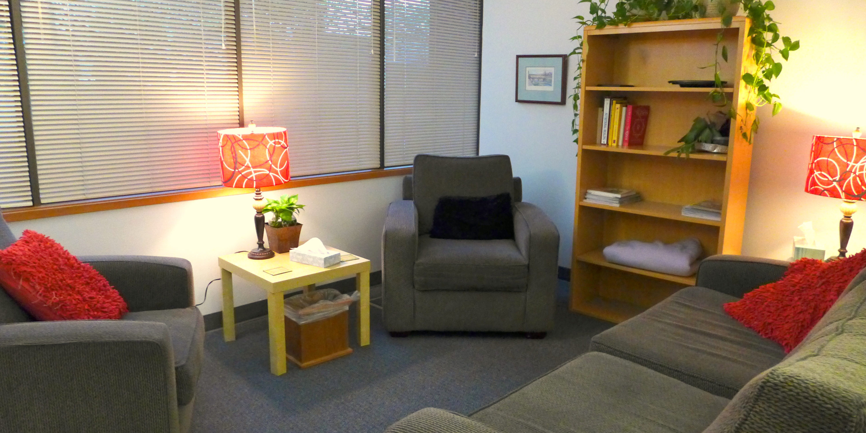 Counseling Room 1 for rent, Sage Center for Wholeness and Health, Beaverton Oregon