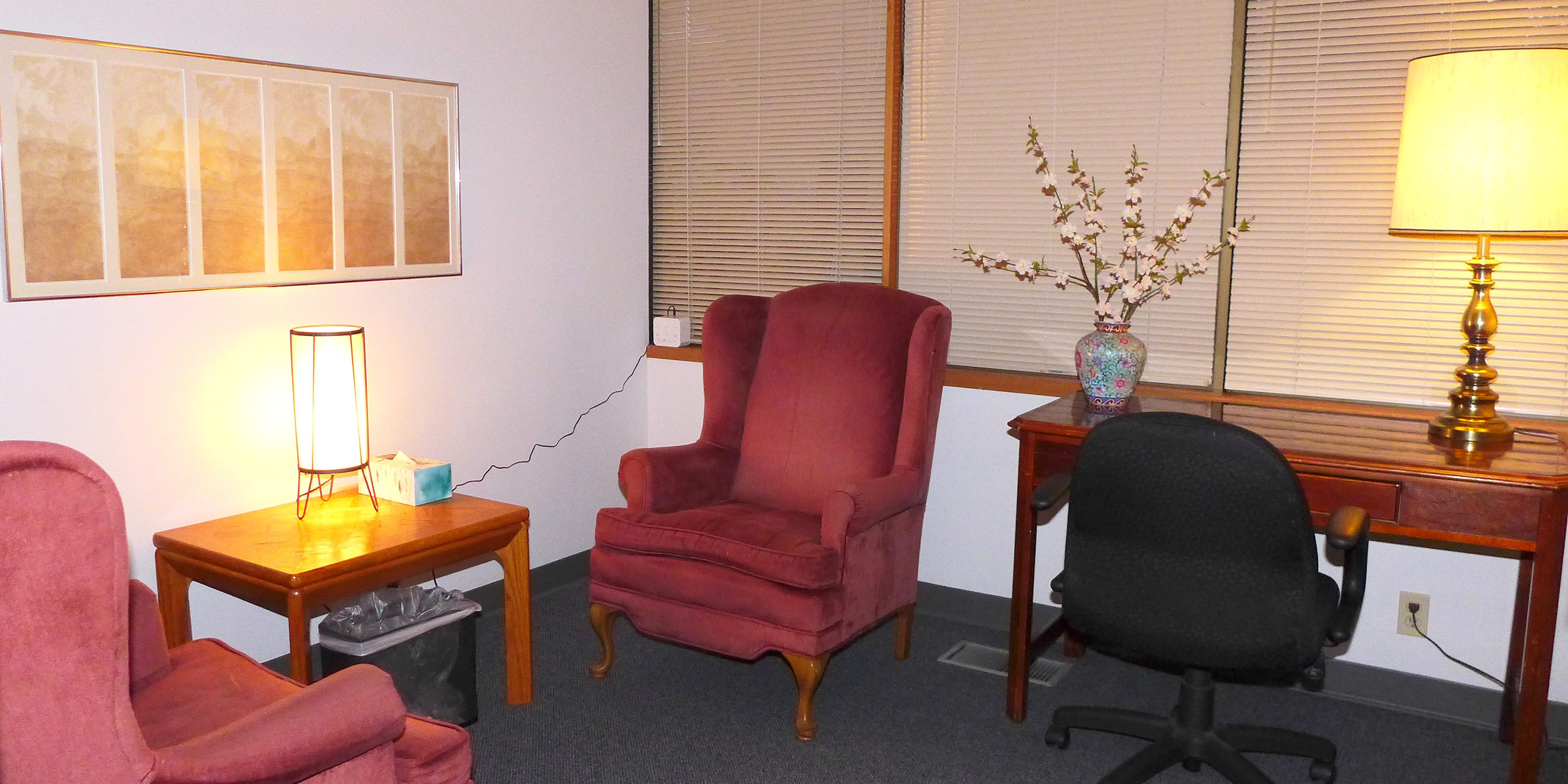 Counseling Room 2 for rent, Sage Center for Wholeness and Health, Beaverton Oregon