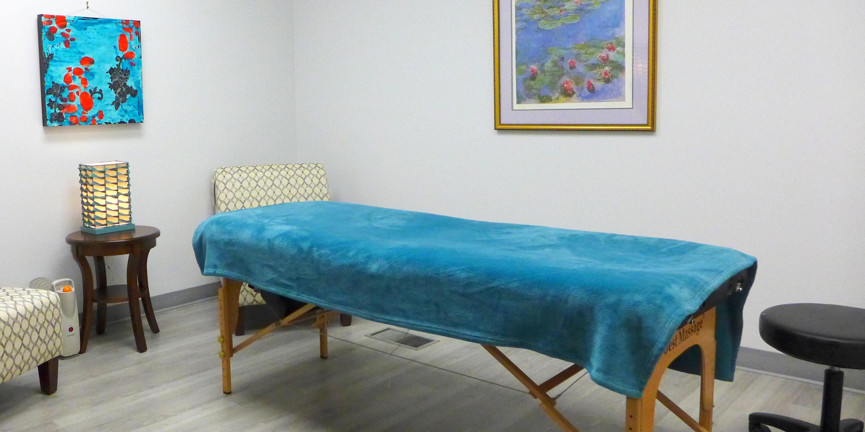 Massage Room 3 for rent, Sage Center for Wholeness and Health, Beaverton Oregon