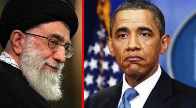 Aatollah Ali Khamenei 1, Barack Obama 0