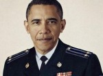 Crimean Prime Minister Sergey Aksyonov tweeted a photoshopped image of President Barack Obama in a Russian military uniform.