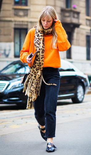 leopard-scarf