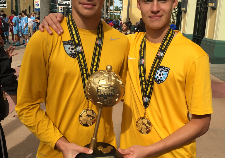 Soccer Hansen brothers