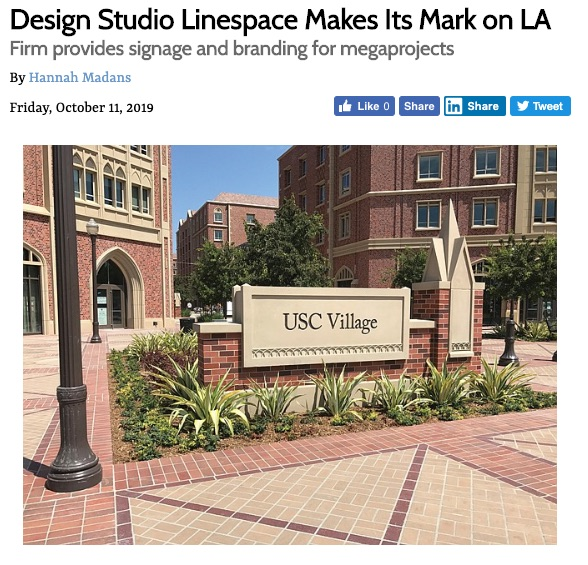 Cover image: Linespace Article in LA Business Journal