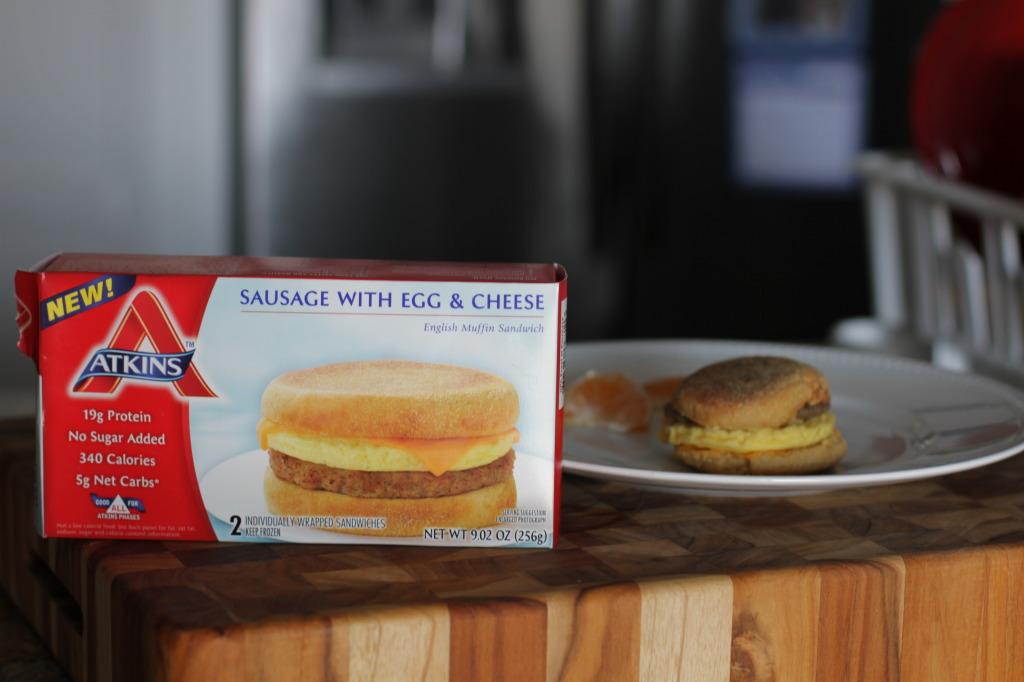 atkins breakfast sandwich