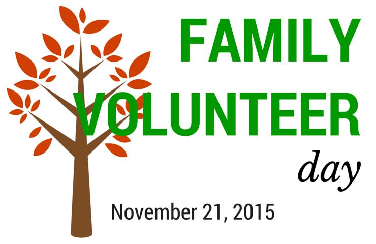 family volunteer day ideas