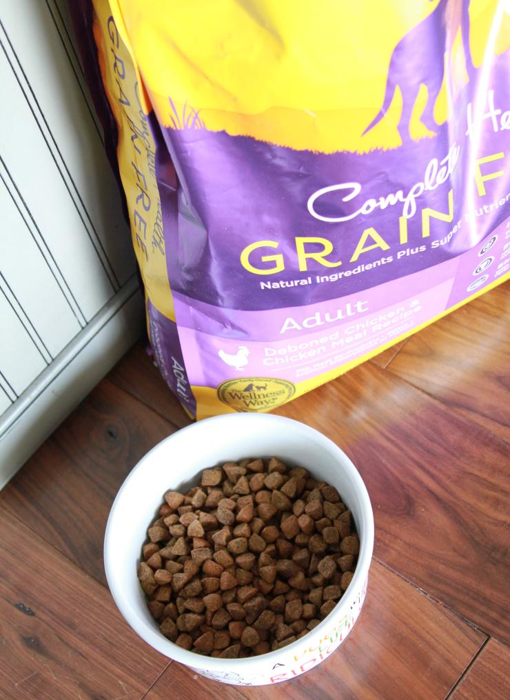 wellness complete health grain free dog food