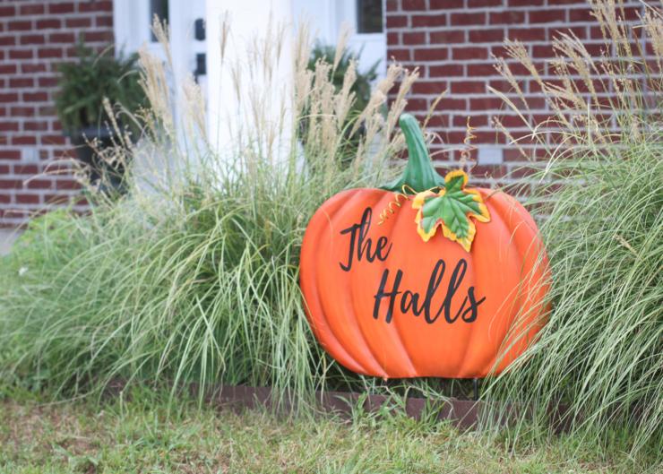 metal personalized pumpkin tutorial