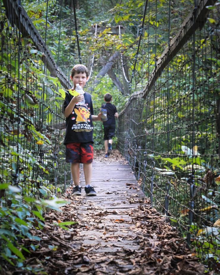 cub scouts hiking