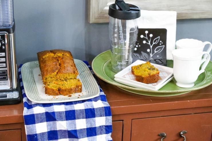 carrot pecan bread recipe