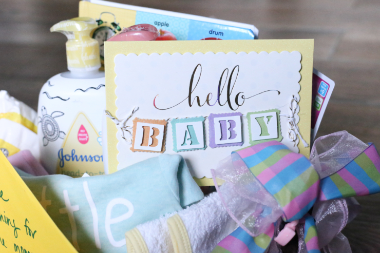 DIY Baby Gift Basket Inspiration