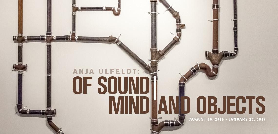 Anja Ulfeldt: Of Sound   Mind and Objects