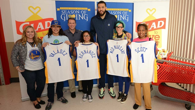 Golden State Warriors #GladtoGive Museum