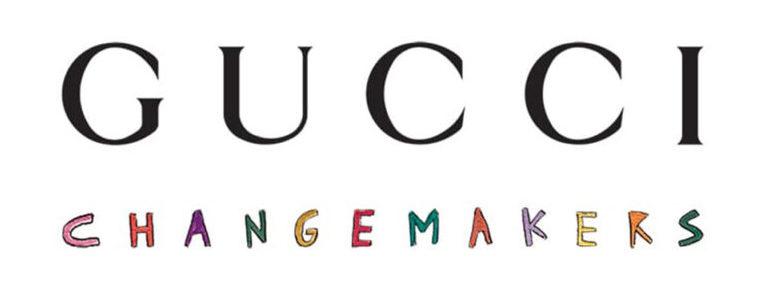 Gucci Changemakers logo written out
