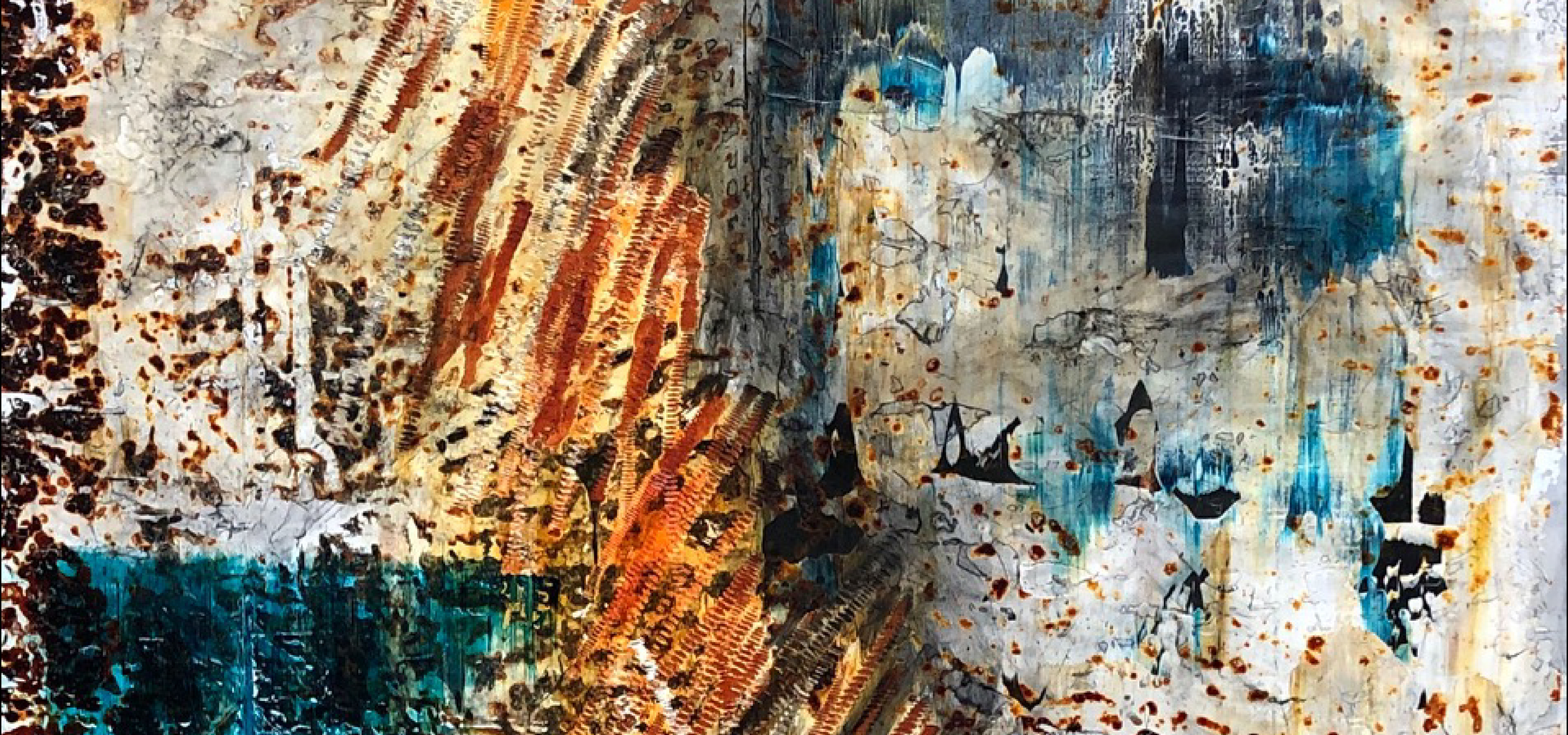Abstract painting by Robyn Horn