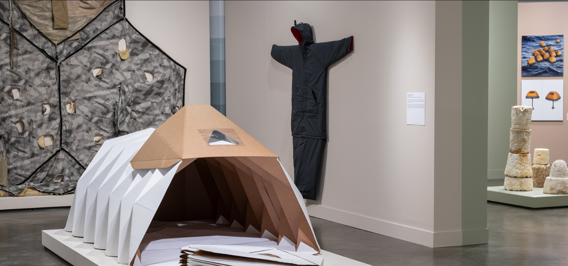 Survival Architecture and the Art of Resilience, 2019-2020, Museum of Craft and Design. Images courtesy of Henrik Kam