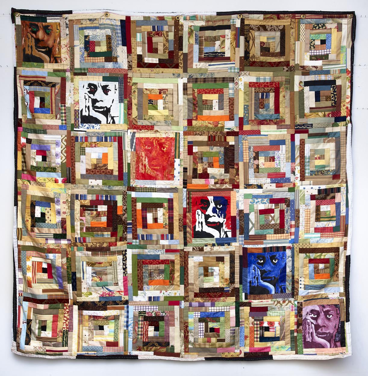 A multicolor quilt