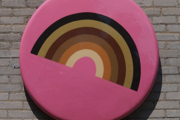 Amelia Toelke, Underpin and Overcoat, RoCO, 2020, upcycled Styrofoam, paint, fiberglass, resin, wood Photo courtesy of the artist