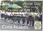 Anzac Day - Overprint - World Scout Jamboree