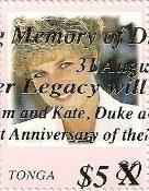 Princess Diana Overprint