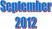 2012 - September