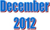 2012 - December