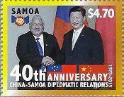 Samoa - China Diplomatic Relations