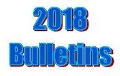 2018 Bulletins