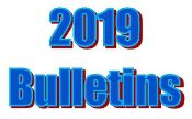 2019 Bulletins