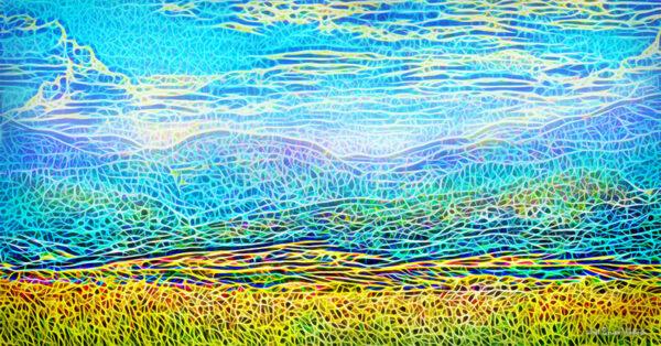Golden Field Mountains - Joel Bruce Wallach