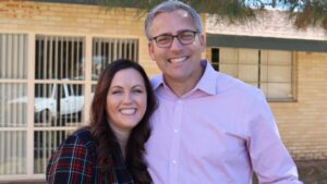 Chantell and Chad Jacobs, youth leaders at Chandler Nazarene