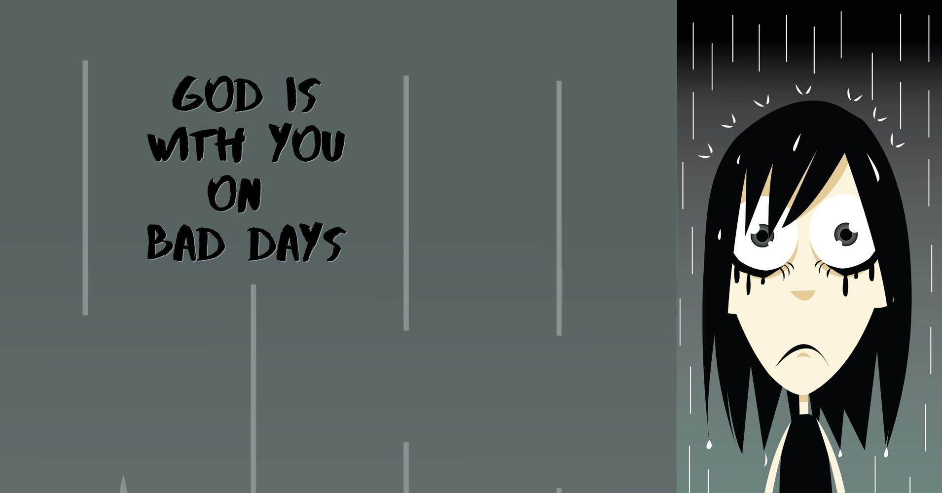 """Featured image for """"God Is With You On Bad Days"""""""