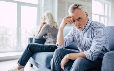 Older couple upset
