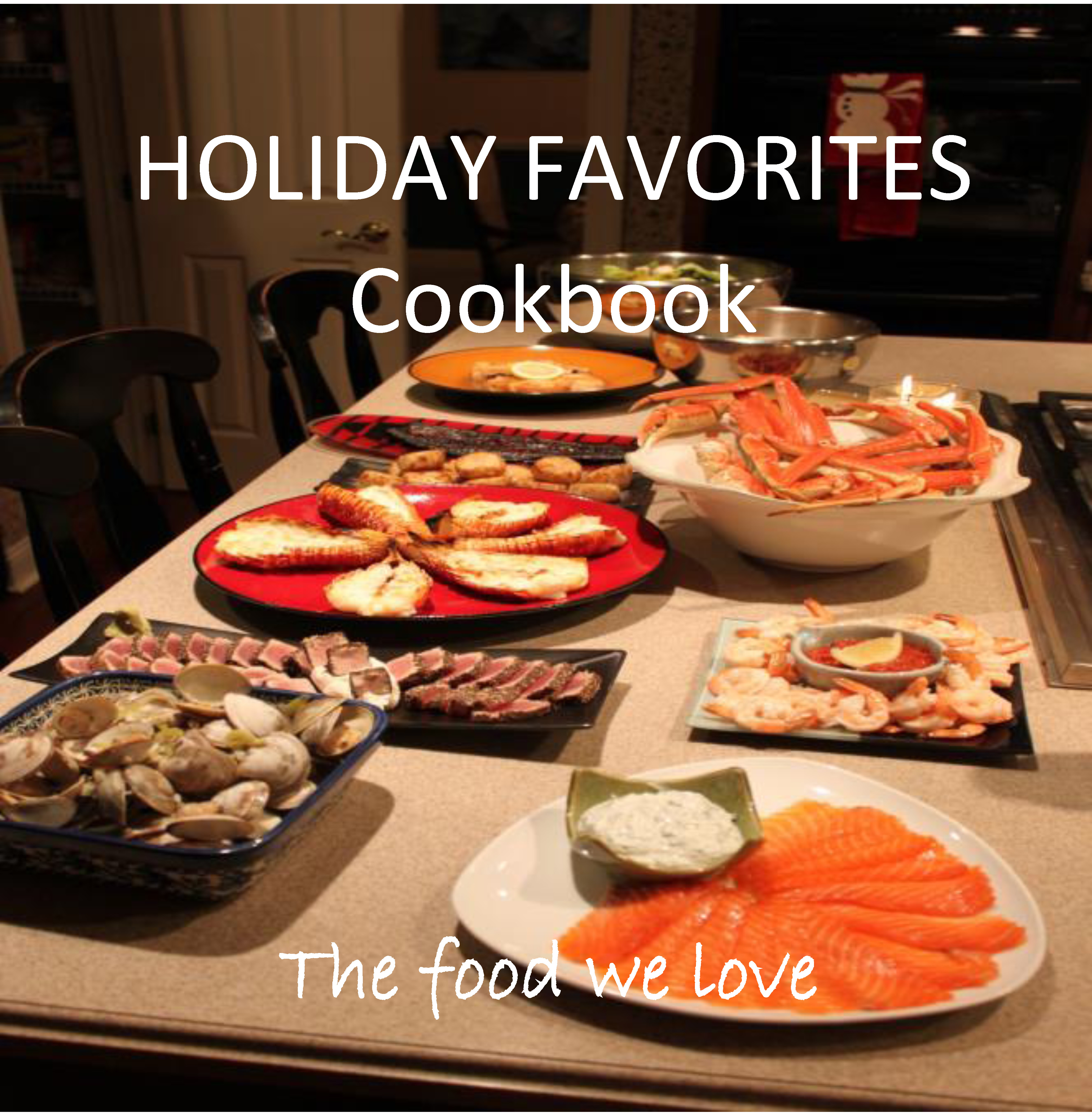 Family Cookbook – Holiday Favorites
