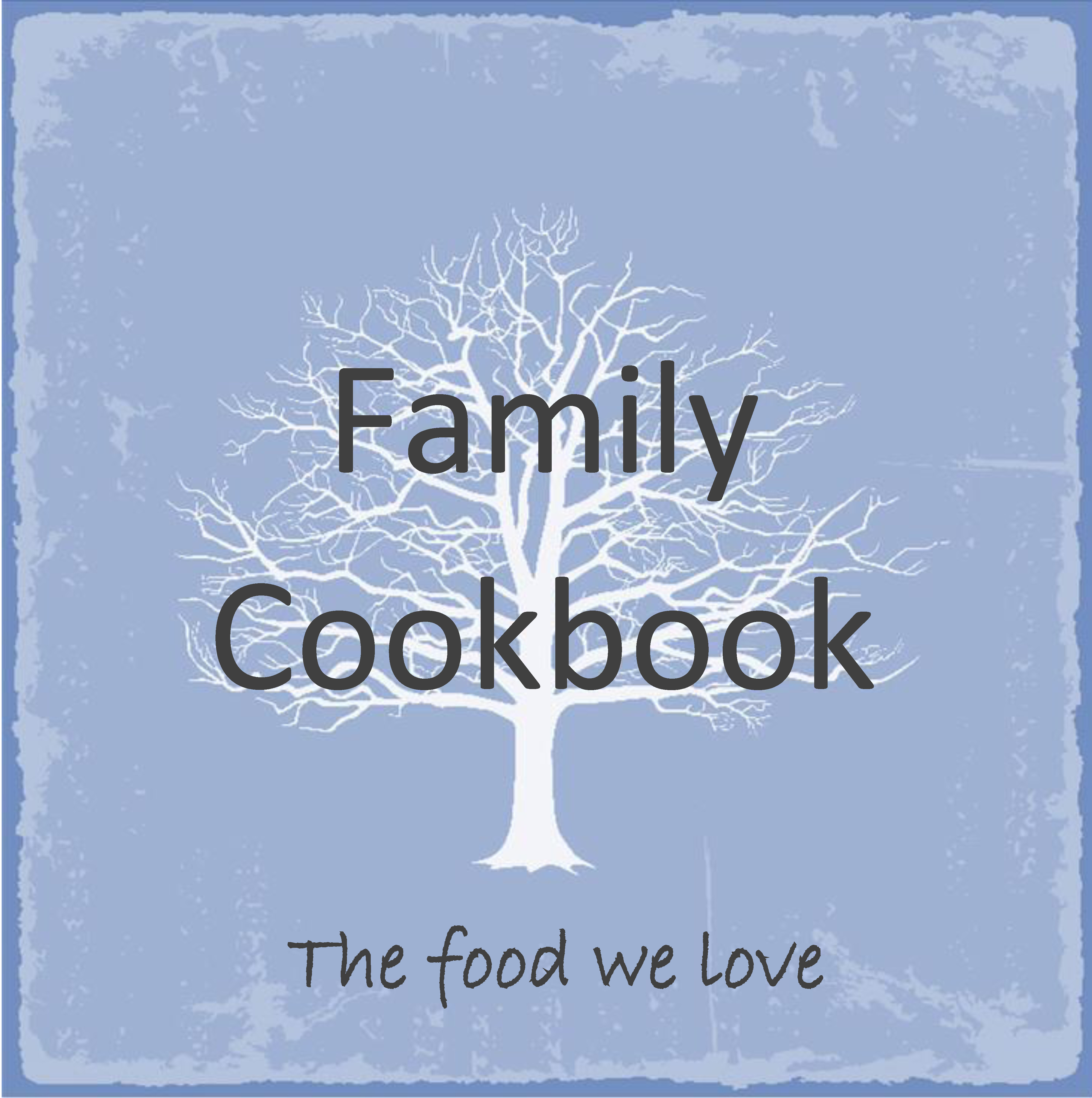 Family Heirloom Cookbook Cover