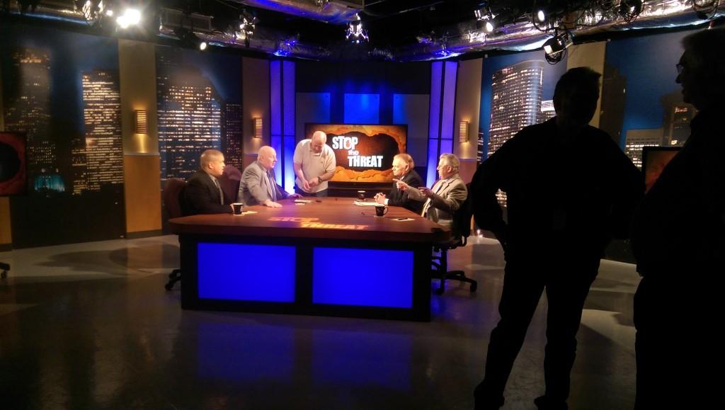 Season 8 Studio Set Shot During Episode Filming.