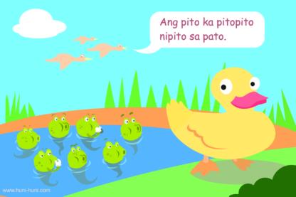 Cebuano tongue twister: Pito ka pitopito
