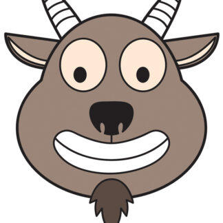 kanding goat mask