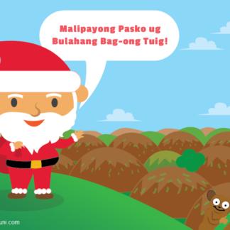 Santa Claus Cebuano Filipino Dialect