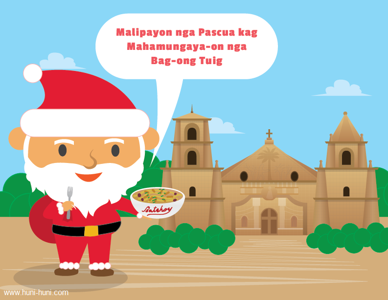 Santa Claus Ilonggo Filipino Dialect